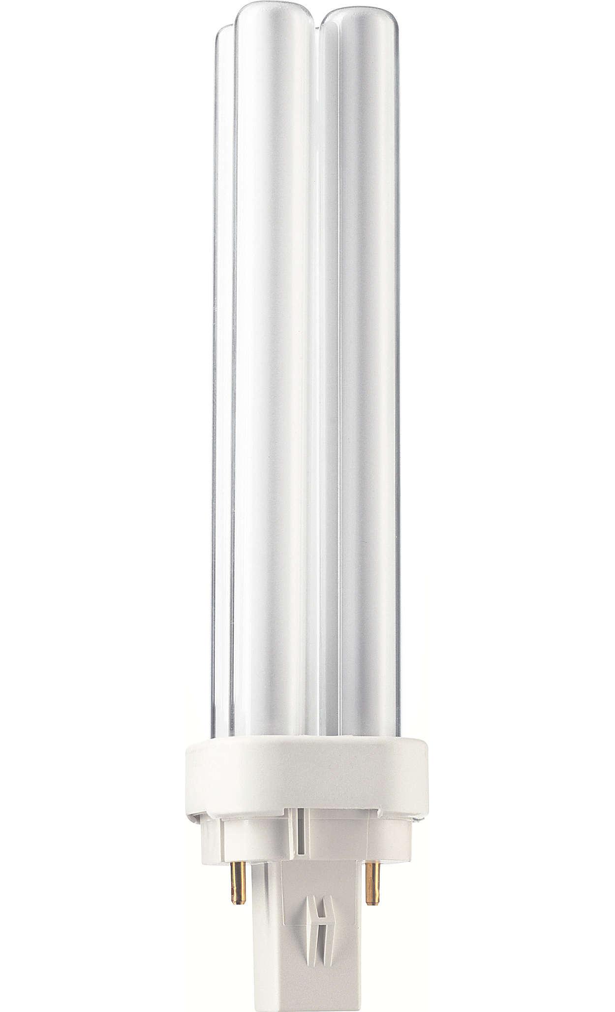 Lampes longue durée à haute efficacité, offrant un excellent rendu des couleurs