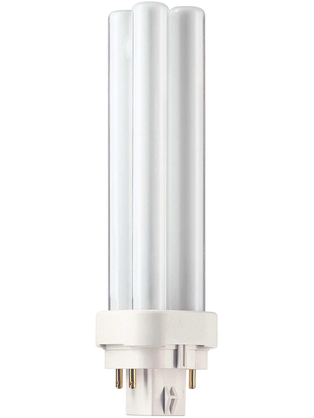 Une lampe compacte avec un rendement amélioré