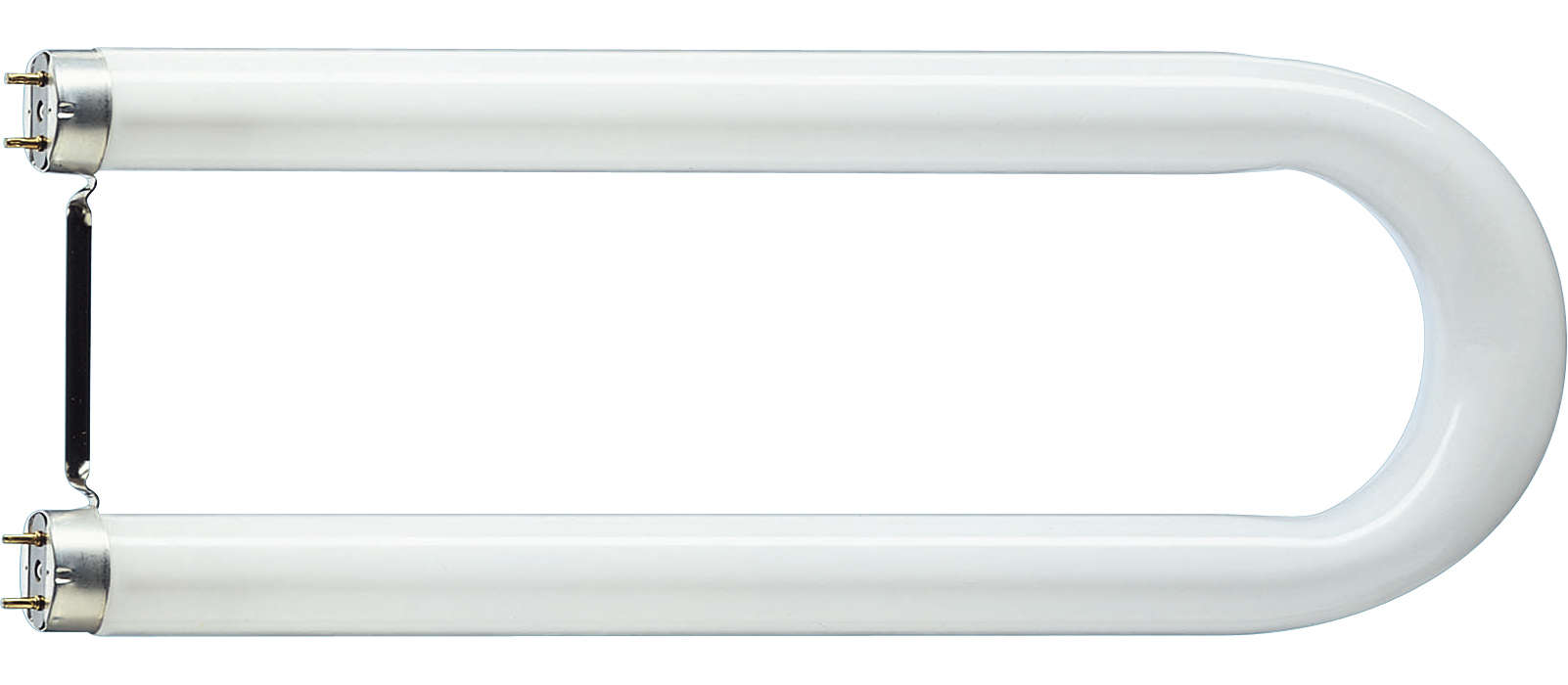 Éclairage fluorescent en forme de U