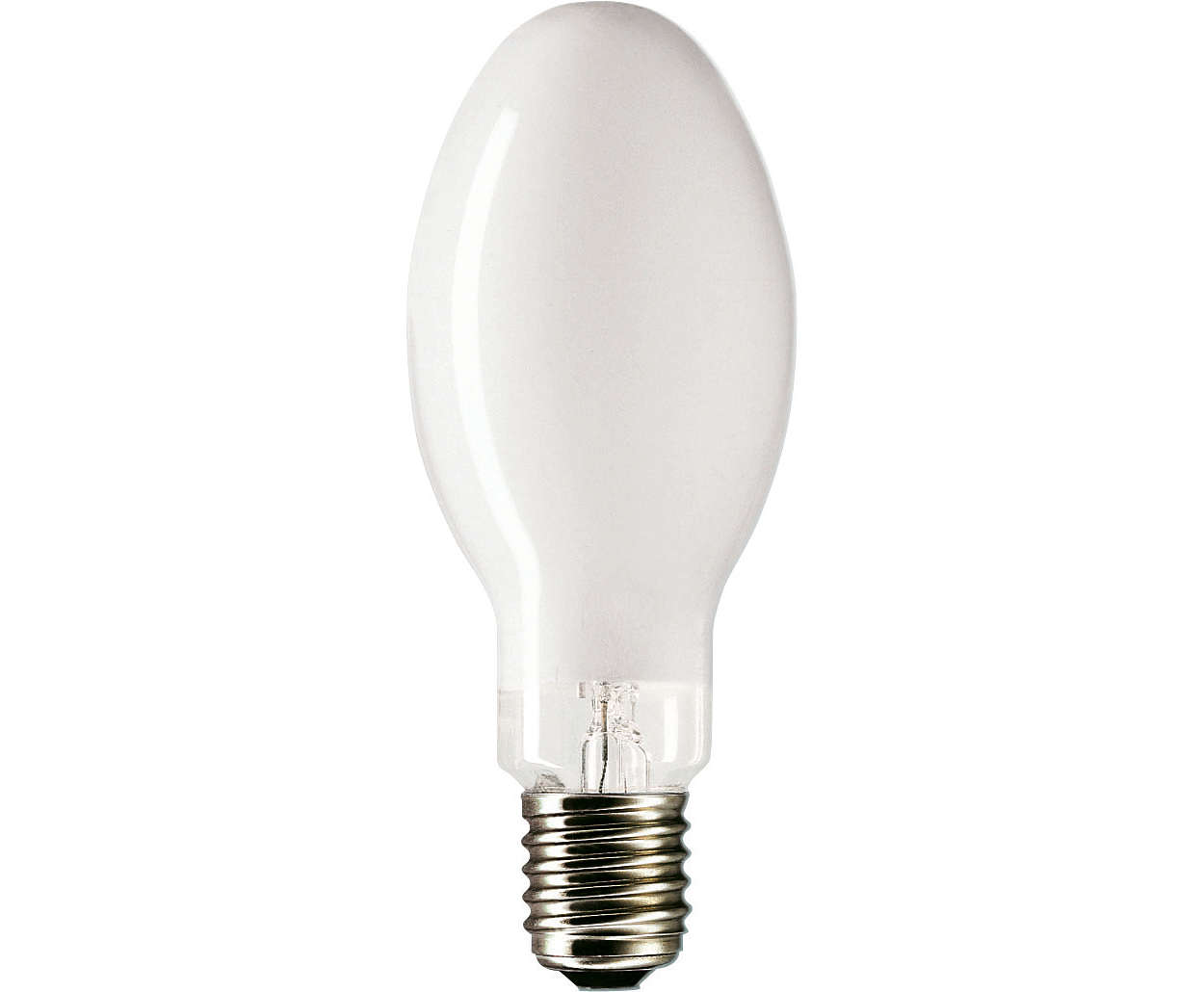 O jeito mais fácil de mudar para luz branca confortável.