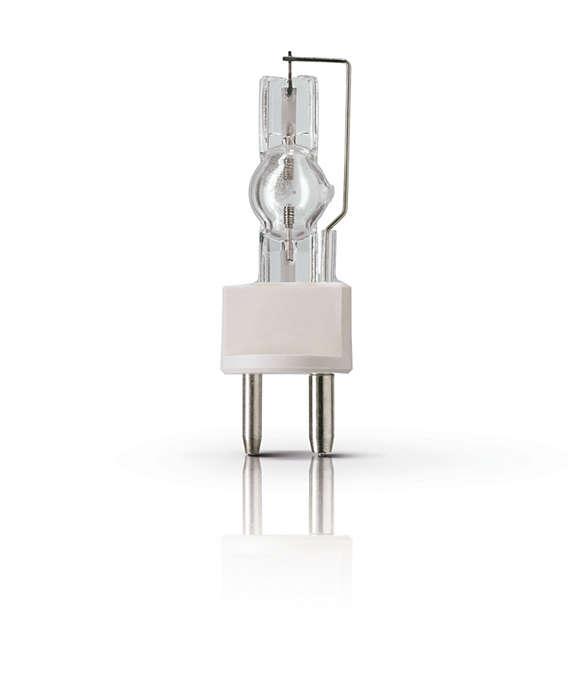 MSR Short Arc – лампы с увеличенным сроком службы