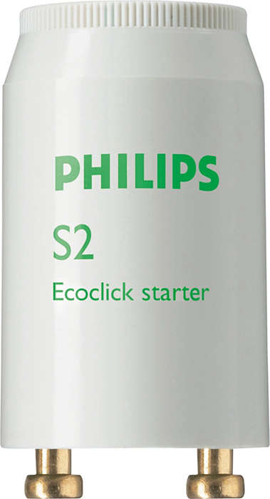 Philips tanning starters: a complete range of easy-to-install eco-friendly starters for tanning lamps operating on a conventional electromagnetic ballast