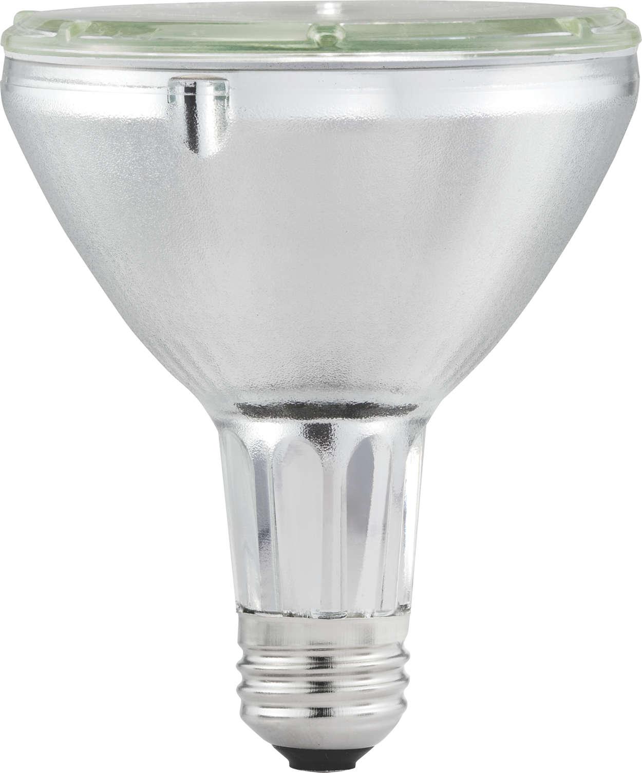 Haute efficacité avec une lumière vive scintillante.