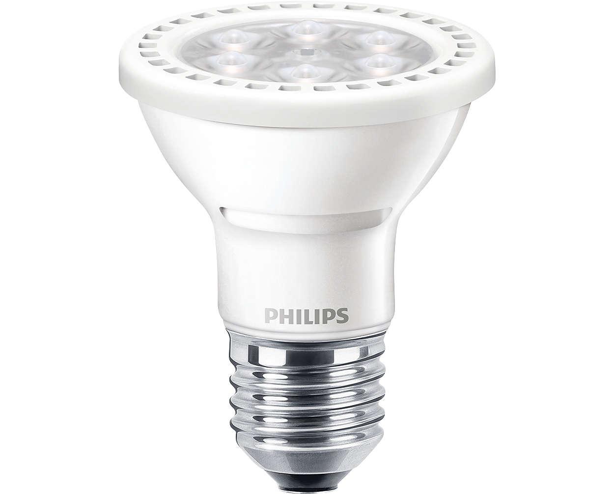 MASTER LEDspot PAR - The energy-saving alternative for lighting in public areas
