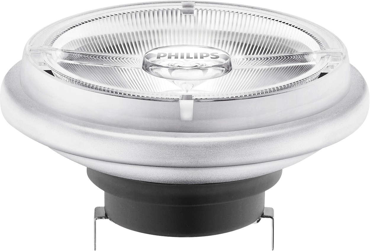 MASTER LEDspot LV AR111 - La solution idéale pour l'éclairage par projecteurs dans un magasin
