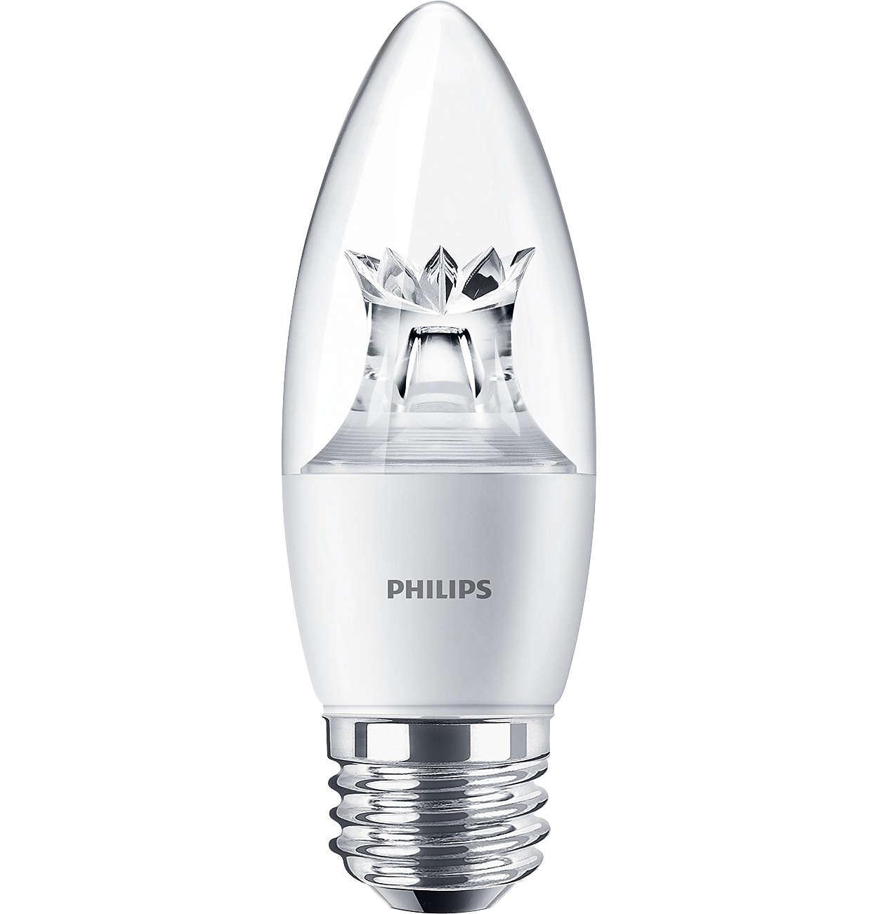 Energy saving elegance with improved lumens and design versatility