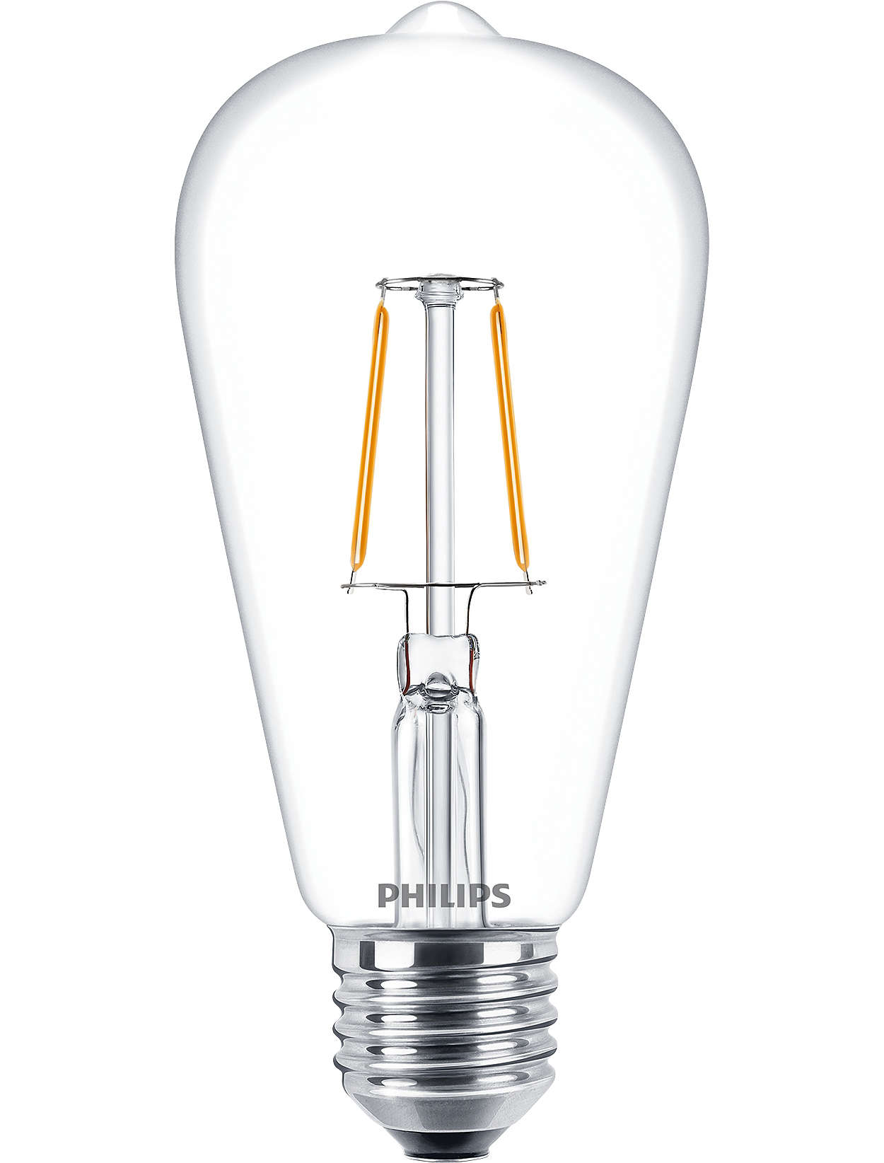 Classic look & feel and LED filament for decorative lighting