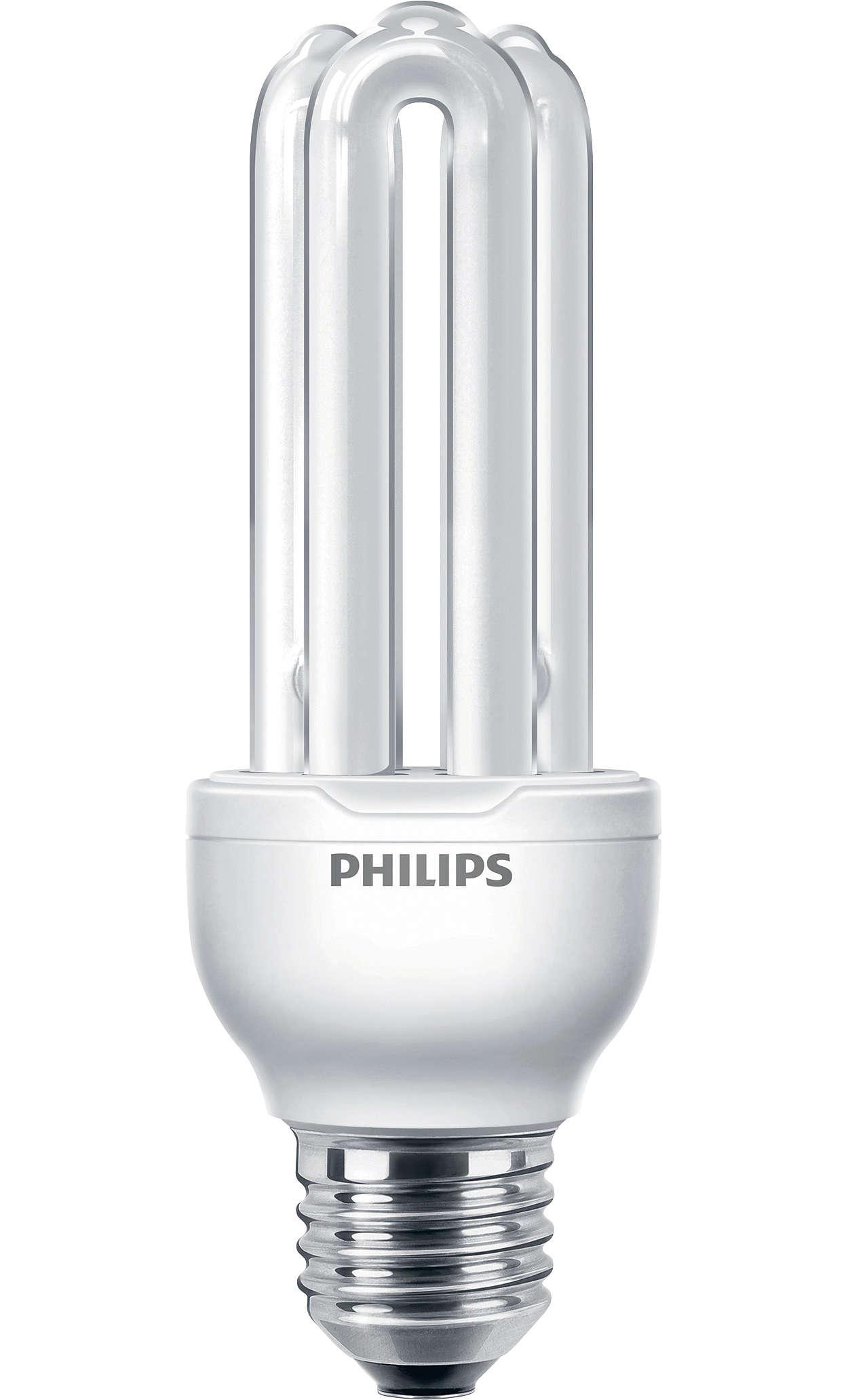 Energeticky úsporná zářivka kompaktních rozměrů