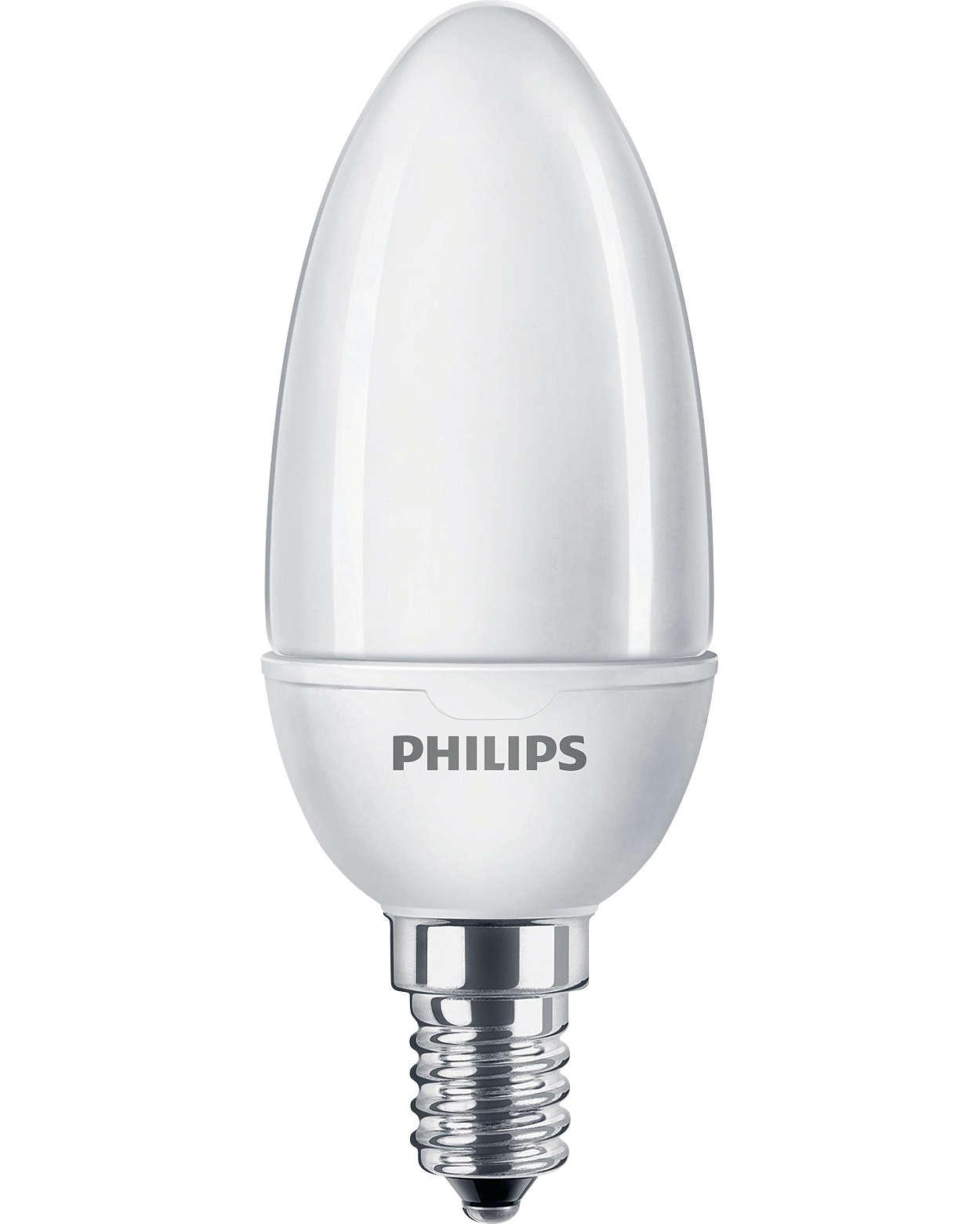 Solution parfaite, économe en énergie et esthétique, spécialement destinée aux luminaires décoratifs de petite taille