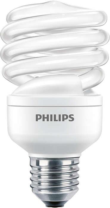 An energy saver combines energy saving & a compact design