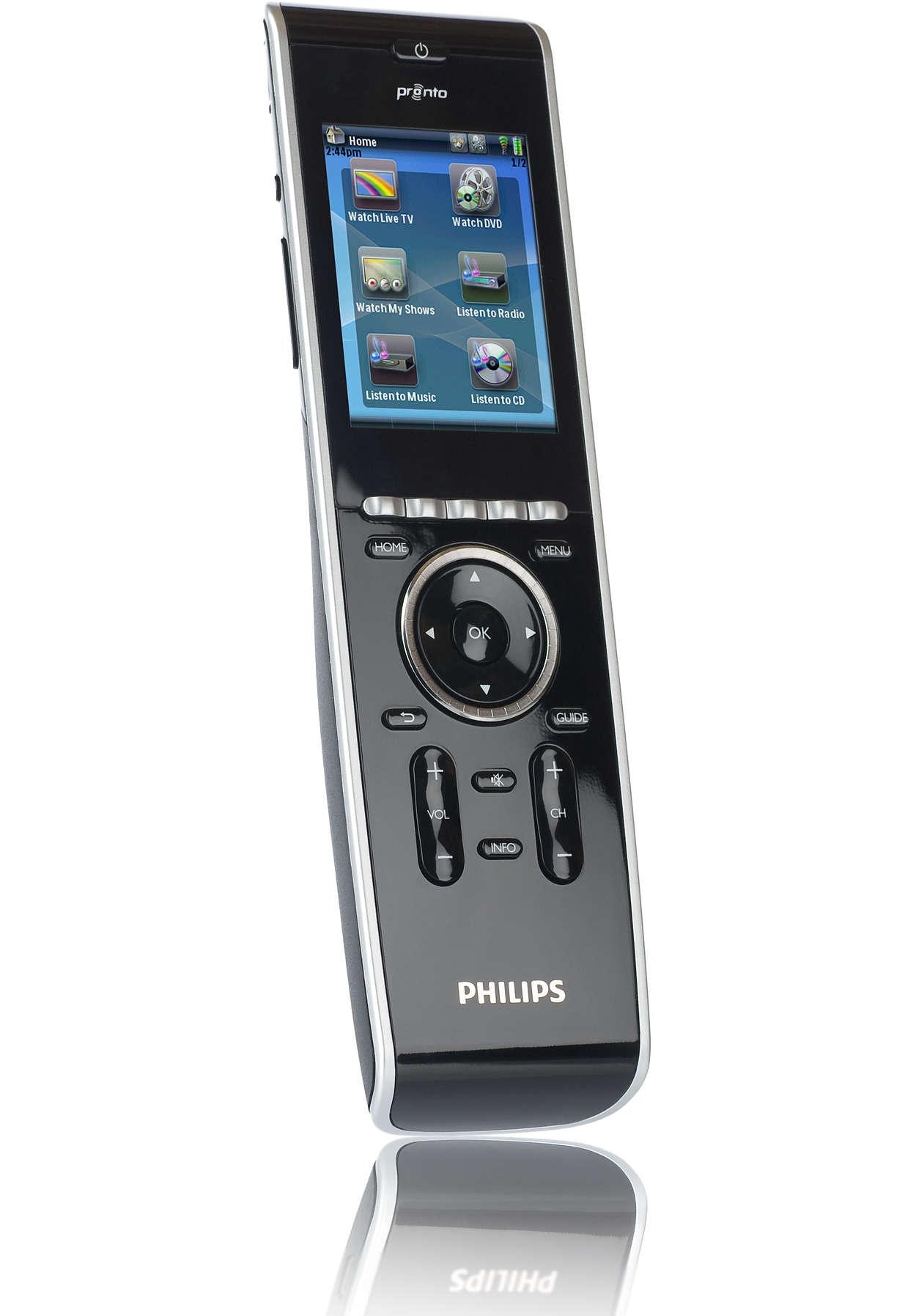 Von Elektronikfachleuten konzipiert – von Philips hergestellt.