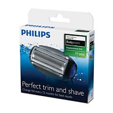 TT2000/43 -   Bodygroom replacement foil Lamina sostitutiva