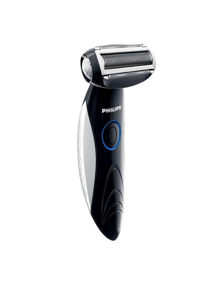 Do przycinania i golenia włosów we wszystkich partiach ciała