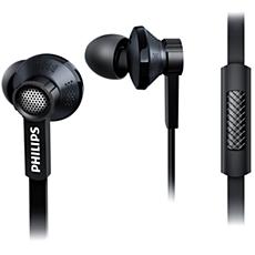 TX1BK/00 -    In-ear-hörlurar med mikrofon