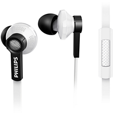 TX1WT/00 -    In-ear headphones with mic