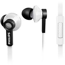 Øretelefoner med ørepropper