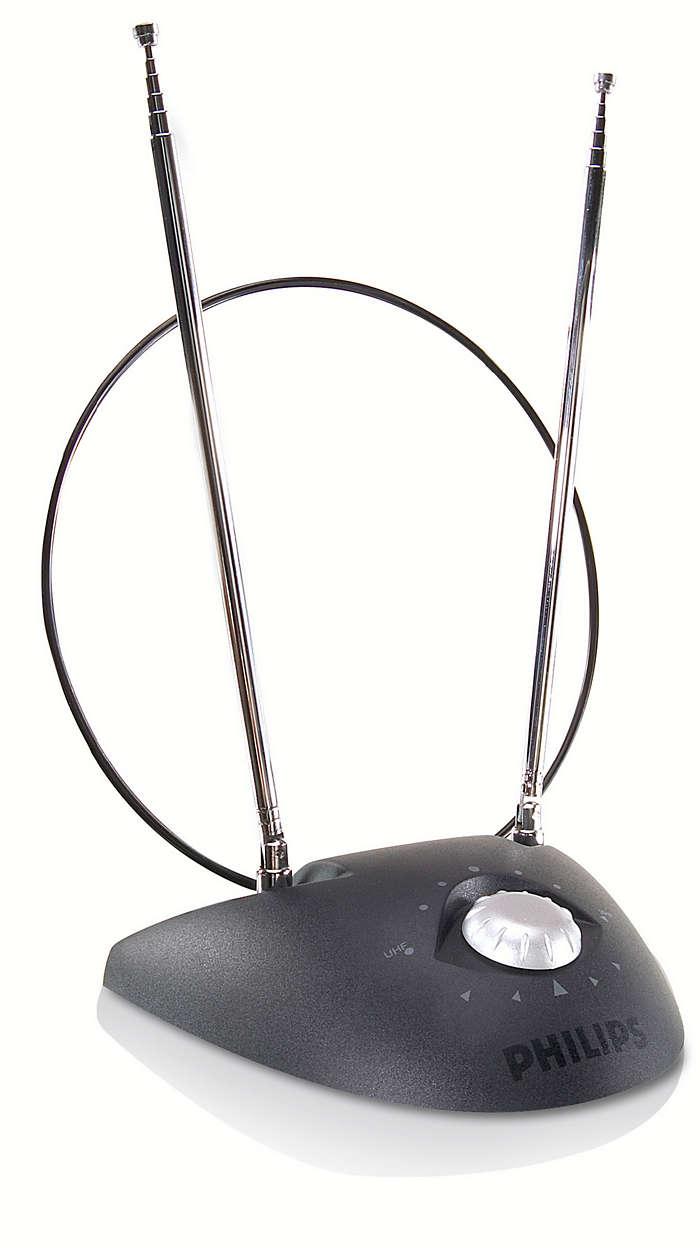 Antenne compacte mais puissante