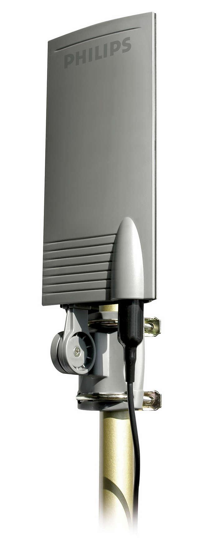 Receive digital and analog TV