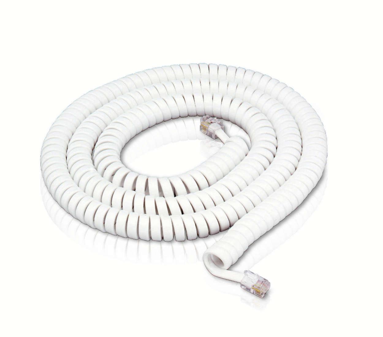 Pour relier un combiné à n'importe quel téléphone