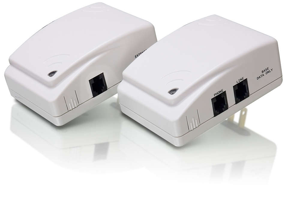 Turn AC outlets into phone jacks