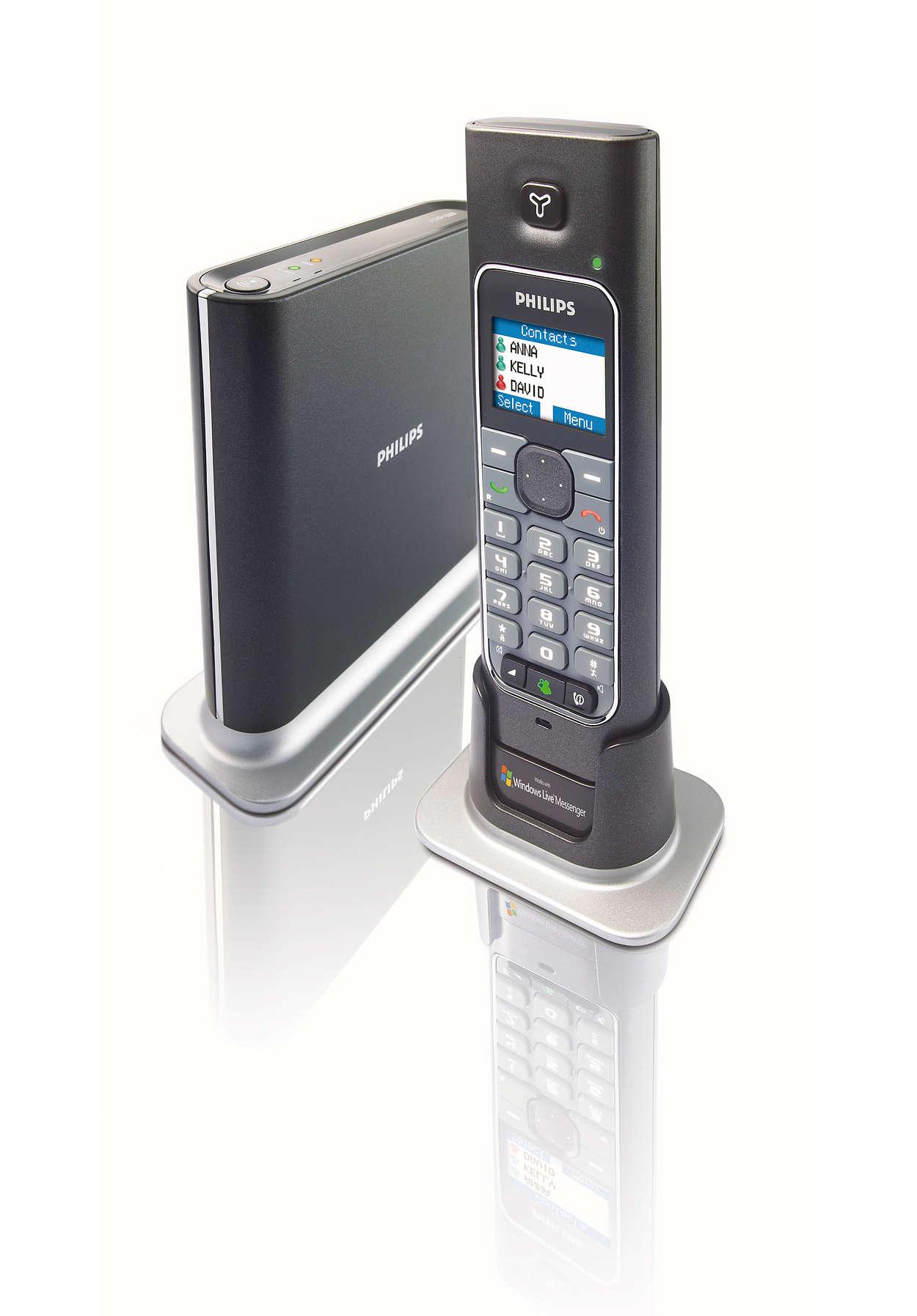 Messenger Telefon Voip4331b 69 Philips