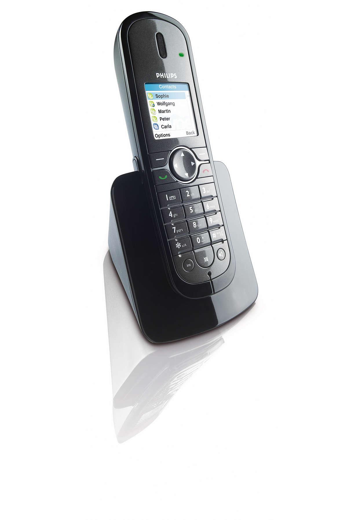 Appels sur ligne fixe ou Skype™ en toute facilité