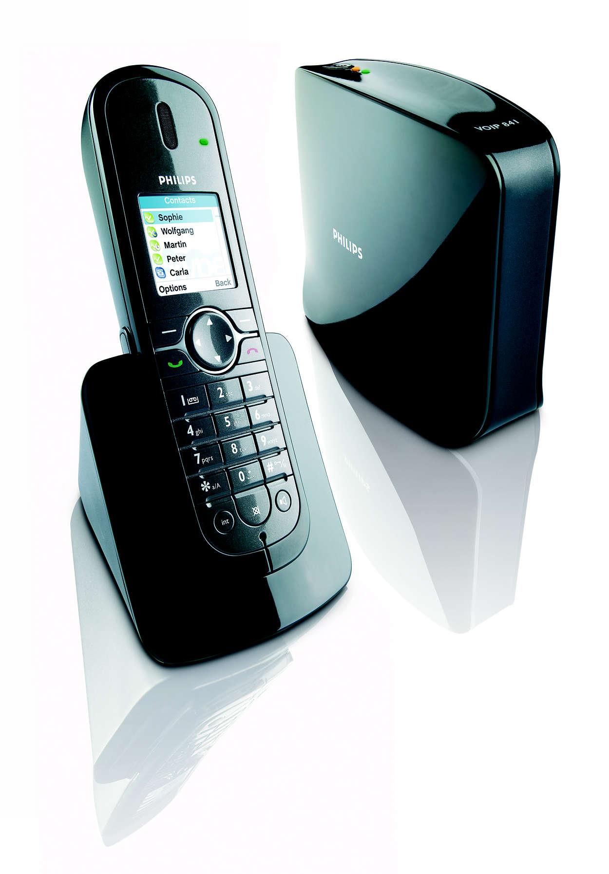 Frakoblet Internett-telefoni