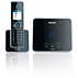 Design collection Téléphone fixe sans fil avec répondeur