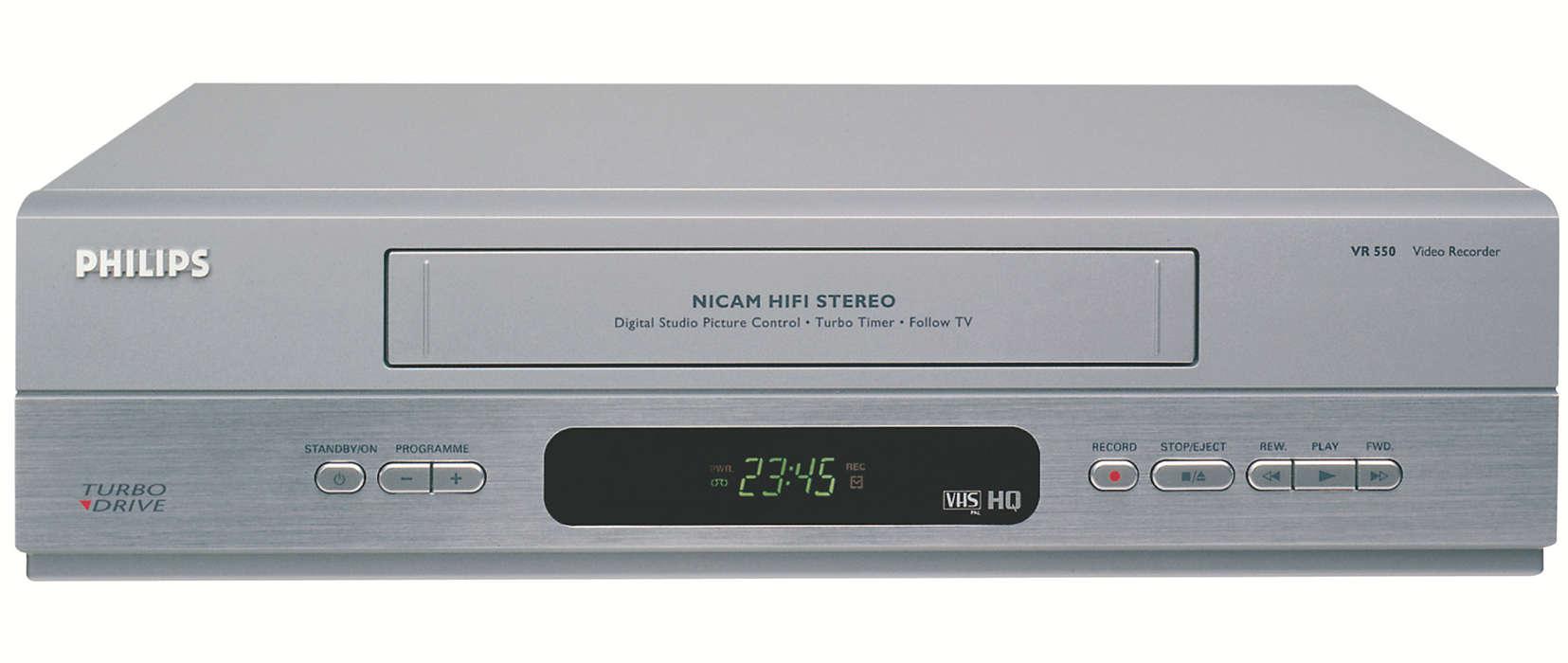 Aggiungi la dimensione Hi-Fi alle tue registrazioni