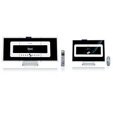 WACS7000/12 -    Bezdrátová hudební základna a stanice