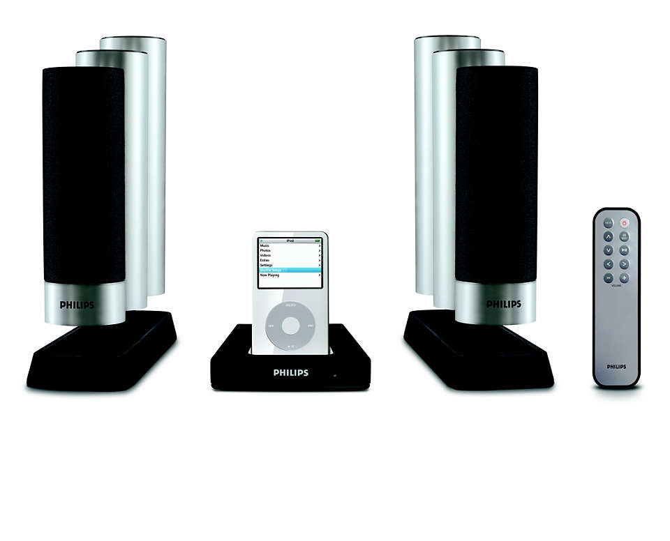 Free your portable music, enjoy it in superb sound