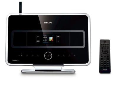 Philips WAS7500/37 Streamium Wireless Music Station Drivers Windows