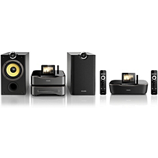 WMS8080/12 -    Wireless Hi-Fi system for Android™
