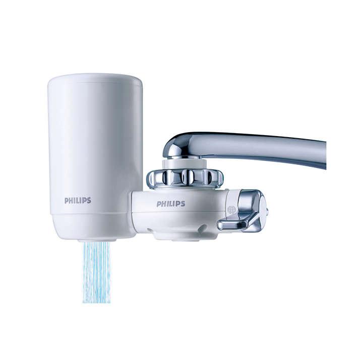 Agua pura, rápido y fácil