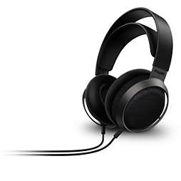 Fidelio سماعات رأس سلكية X3 مثبّتة على الأذن، جزء خلفي مفتوح