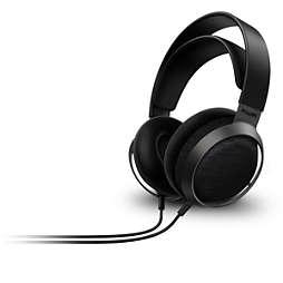 Fidelio X3 over-ear hovedtelefoner med kabel og åben bagside