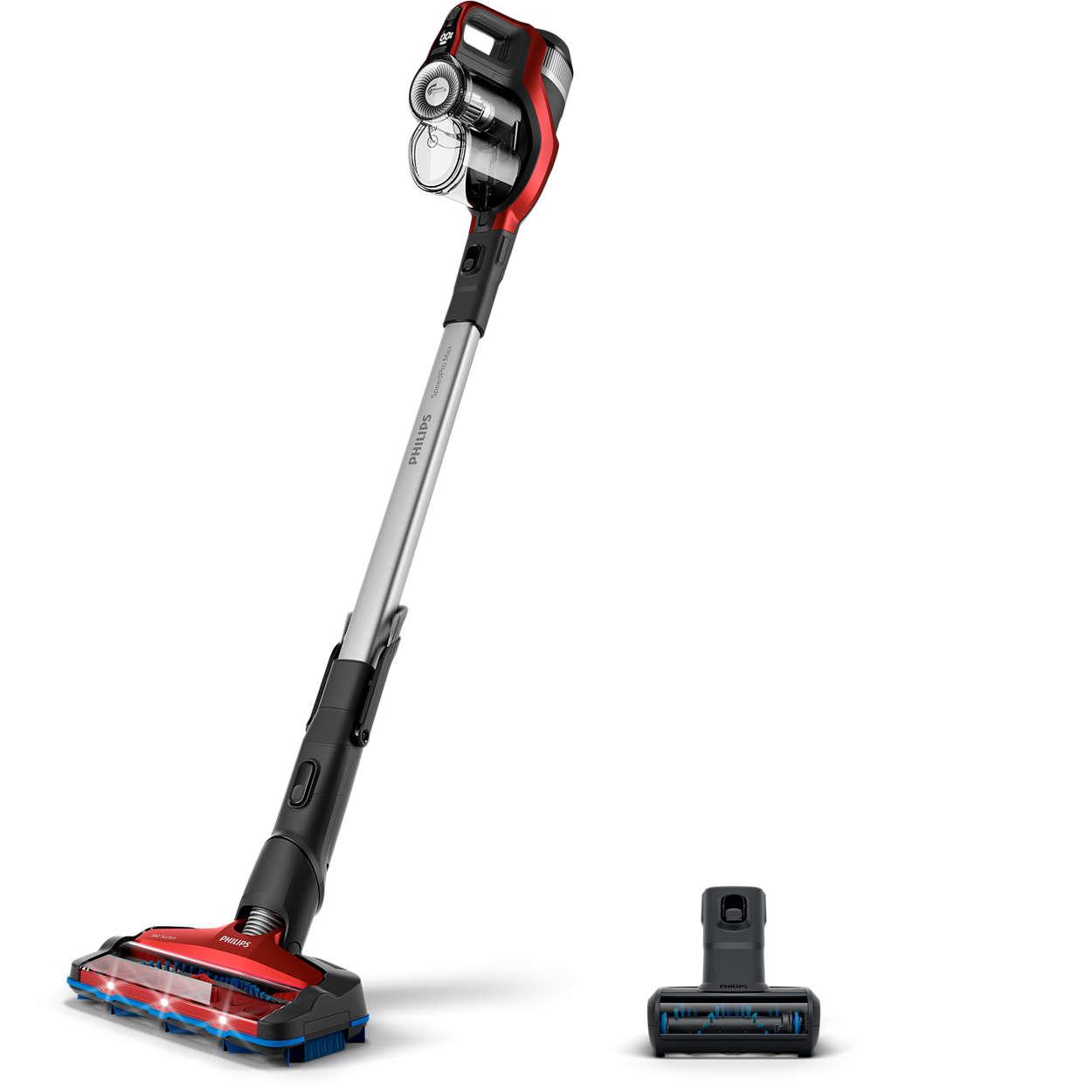 Un nettoyage sans fil ultra-rapide*