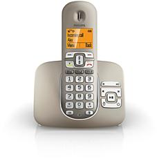 XL3951S/38 SoClear Téléphone fixe sans fil avec répondeur