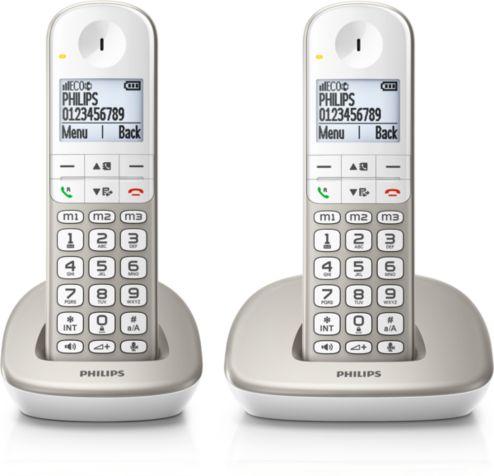 Draadloze Telefoon Xl4902s22 Philips