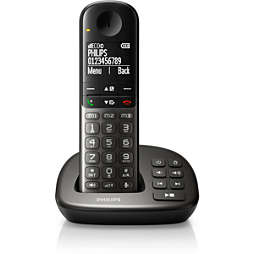 Bezdrátový telefon se záznamníkem