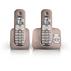 SoClear Téléphone fixe sans fil avec répondeur