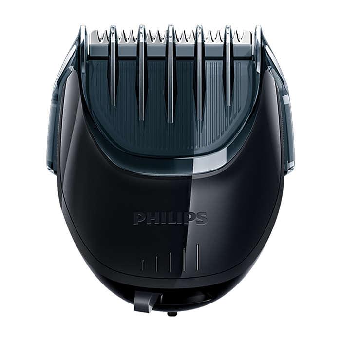 Съемная насадка-стайлер для бороды
