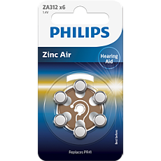 ZA312B6A/10 Minicells batteri