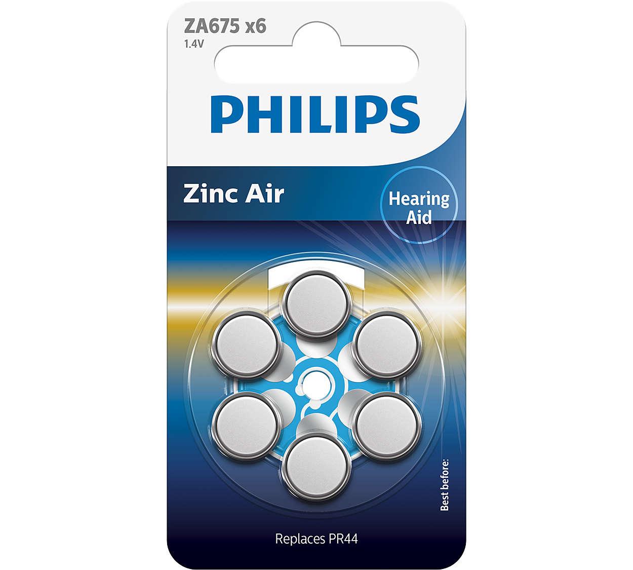 Качественные цинково-воздушные элементы для слуховых аппаратов