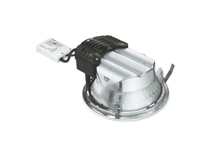 Nouvelle configuration du luminaire et de son boîtier d'appareillage