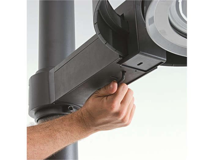 Réglage orientation horizontale