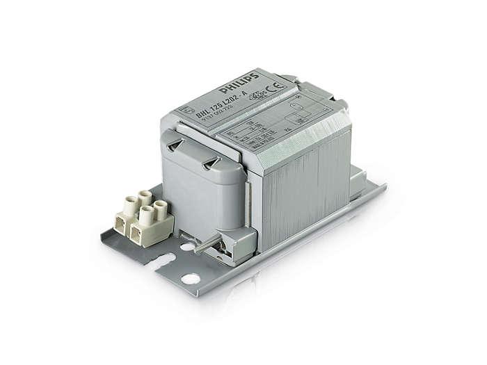 Ballasts Imprégnés MK4 BHL pour lampes Mercure et Iodure
