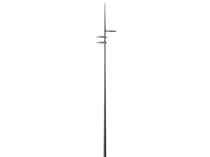CitySoul gen2 ja Accent spigot mounted on Ocean Straight pole