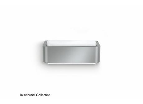 Flowerbed wall lantern grey 1x13W 230V
