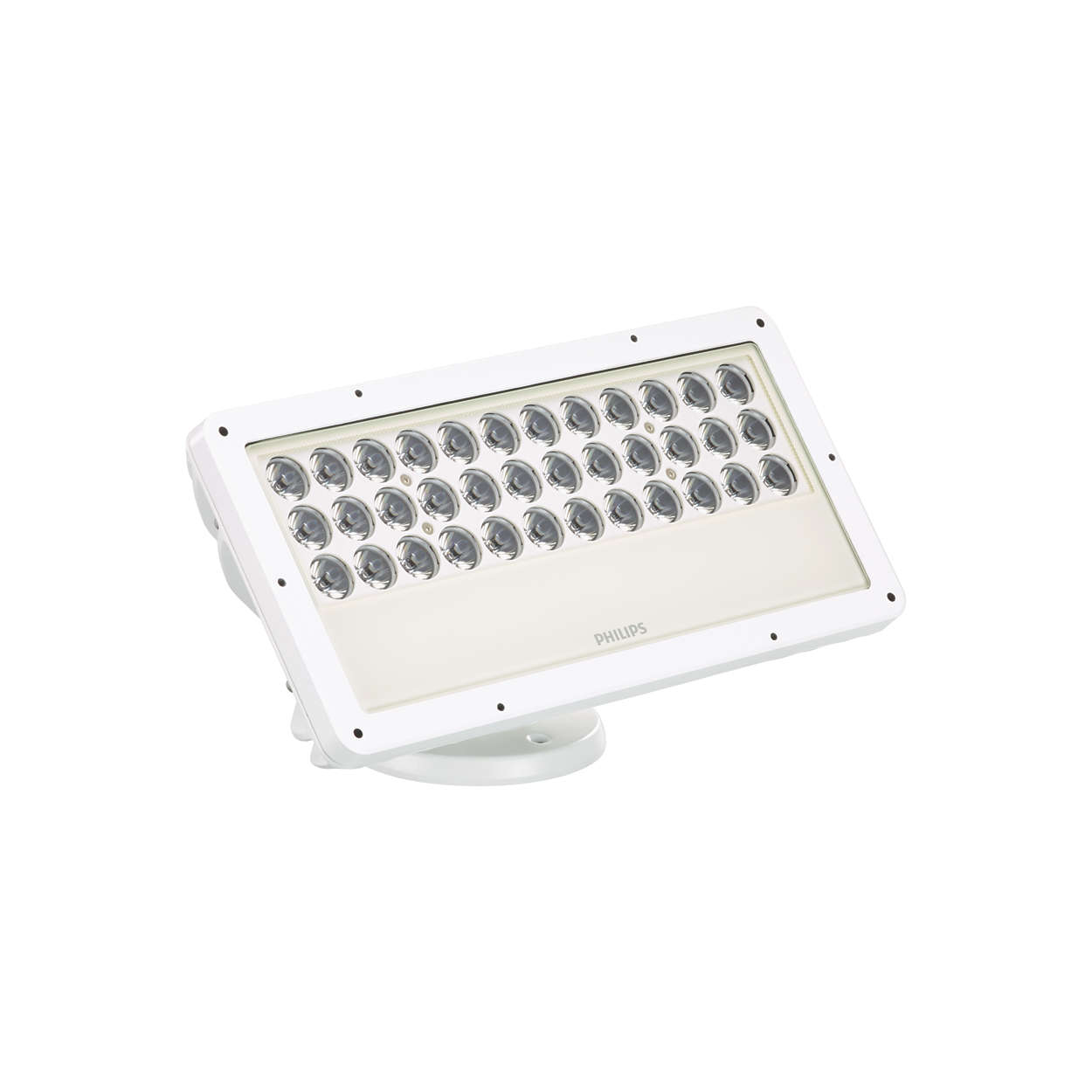 ColorBlast RGB Powercore gen4 - Customizable exterior LED flood fixture with intelligent color light